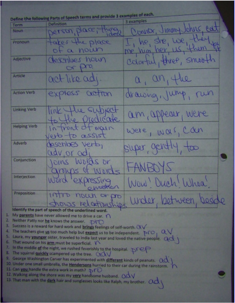 study guide answers mrs snooks th grade gifted language arts touching spirit bear